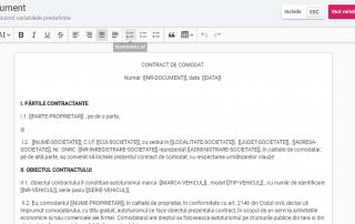 editare rapoarte