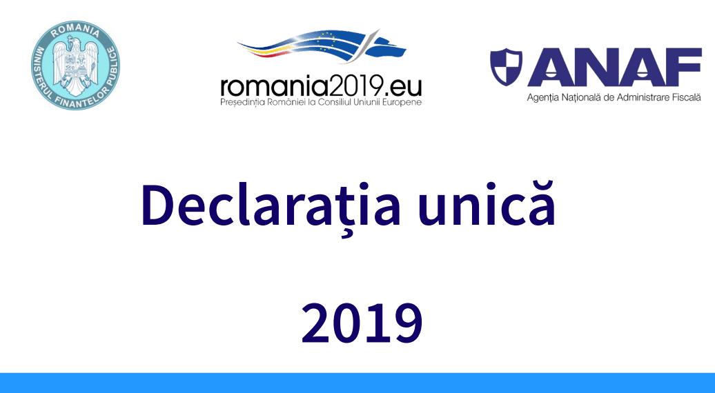 Declaratia Unica 2019